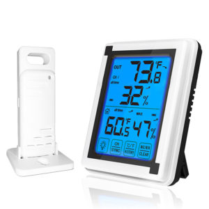 Bakeey Digital LCD Display Home Weather Station Temperature Humidity Sensor Alarm Clocks