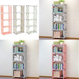 Bokhylla Funktion Hyllenhet Förvaring Rack Kombinerad dekor Bokhylla hemböcker