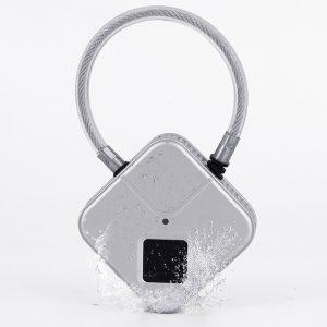 Bakeey Fingerprint Padlock Anti-theft Smart Door Lock Waterproof Dustproof Multi-function Luggage Locker Padlo