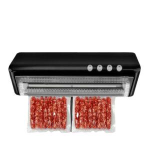 Vakuumlufttätningssystem för livsmedelsbevarande inklusive gratis tätningspåsar Matvakuumtätare Matförsegling 110V 220V Elektrisk ventilventil