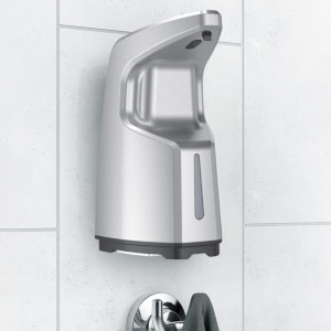 450ML 4-Gear Adjustable Liquid Output Infrared Sensitive Automatic Waterproof Wall-mounted Desktop Hand Washing Soap Dispenser Household Kitchen Washroom Office Cleaning Supplies