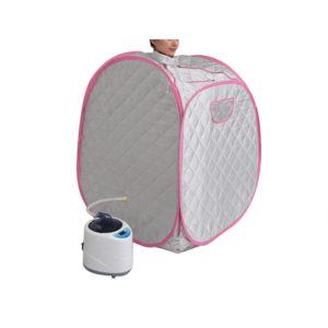 iBeauty Free Inflatable Household Single Sweat Steamer Sauna Bath Folding Box