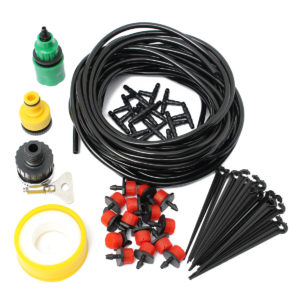 10m 32.8ft Micro Drop Irrigation System Atomization Micro Sprinkler Cooling Suite