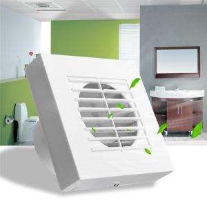Broan Badrumstak Väggmontering Ventilationsfläkt Luftventilation Avgas toalett Badfläkt