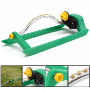 180 grader 18 hål Autorotation sprinkler trädgård gräsmatta bevattning kylsprej huvud