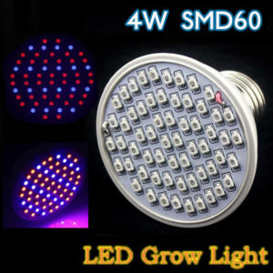 4W E27 Garden Plant Growth LED Bulb Greenhouse Plant Seedling Light