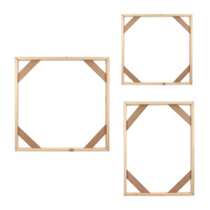 Wood Frame Stretcher Bars Stretching Strips For Canvas Print Picture Photo Frame DIY