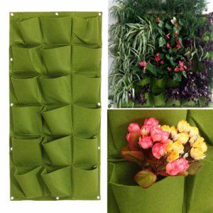 18 Pocket Vertical Greening Hang Wall Garden Plantor Plant Grow Bag Bag Planter