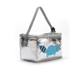 6L Cartoon Animal Lunch Bag Thermal PEVA Picnic Box Hopfällbar ispaket Kylväska Isolerad förvaring Färska väskor för barn Mat och dryck Semesterresor eller skolkontorsdagar