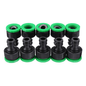 10Pcs 1/2 & 3/4 Inch Faucet Adapter Female Washing Machine Water Tap Hose Quick Connector Garden Irrigation Fitting