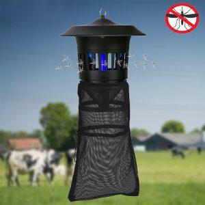 GREENYELLOW 220V 15W Elektrisk myggdödslampa för Garden Farm Anti-mygg Repeller