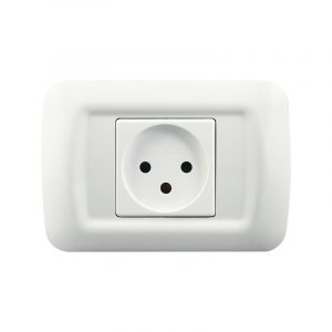 LyRay Israel Standard 118 Type Power Socket With Three Holes AC 250V 16A Wall Power Socket Power Outlet