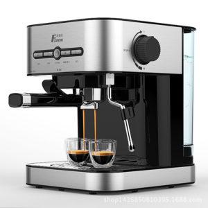 FXUNSHI MD-2009 1.4L 950W Semiautomatic Espresso Milk Bubble Maker Italiensk kaffemaskin