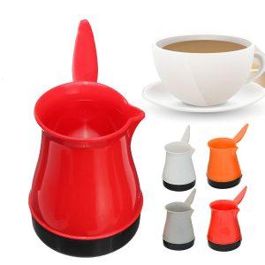 500W hem bärbar kaffebryggare elektrisk turkisk kaffebryggare potten vattenkokare