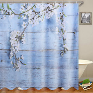 180×180cm Bathroom Shower Curtain 3D Digital Printing Polyester Waterproof