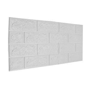 3D Brick Stone Foam Wall Self-Sticker Embossed Wall Paper DIY Wall Home Decor