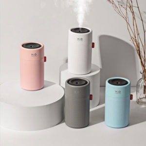 750ml Large Capacity Mini Air Humidifier Portable USB Charging for Home Office Air Purifier Mist Diffuser