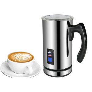 BioloMix Rostfritt stål Mjölkskum Maskin Kaffemaskin 220V Elektrisk mjölk Skummande skumare Mjölk varmare skum Latte Cappuccino Bubble Kaffebryggare