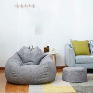 20*32cm Bean Bag Seat Bean Bag Footstool Coat Lazy Sofa