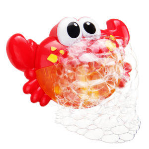 24 Musik Baby Tub Crab Automatic Bubble Blower Bubble Maker Maskin Song Bath Toy Gift