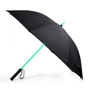 KCASA UB-5 LED-ljussaberparaply Laser-svärd tänder upp golfparaplyer med 7 färgsändande vindtät