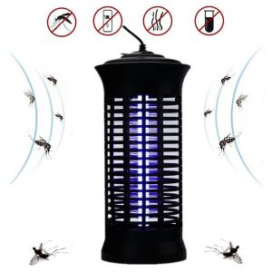 Electronic Mosquito Killer Lamps LED Socket Electric Mosquito Dispeller Fly Bug Insect Trap Killer Zapper Night Lamp Children Friendly
