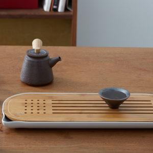CHENGSHE Bambu Kungfu Tesats Lagringstyp Tebordsbricka från xiaomi youpin