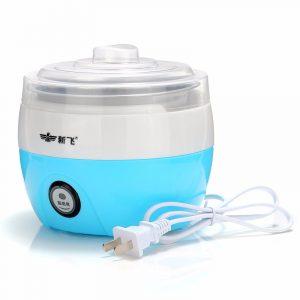 220V automatisk yoghurttillverkare av rostfritt stål DIY yoghurtbehållare kök DIY-apparat