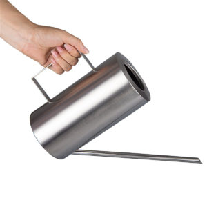 1.5L Stainless Steel Watering Can Water Container Pot Garden Flower Plants Tool