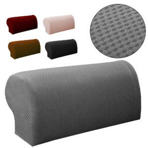 2 STK Premiummöbler Armstödskåpa Soffa Soffa Stolarmskydd Stretchy