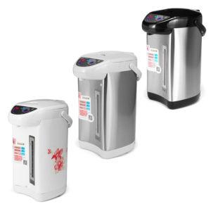 Audio-technica 750W 5.8L rostfritt stål elektrisk vattenkokare elektrisk panna vattenkokare mikrodatorstyrning hushållsvärmare
