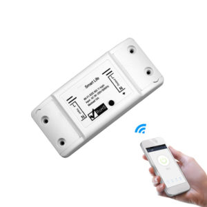 Bakeey 10A Smart Light Switch DIY WiFi Module APP Remote Control Universal Breaker Timer Works with Smart Life APP Alexa Google Home