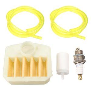 Luftfilter 537-02-40-03 för Husqvarna 340 345 346 350 351 353 Motorsåg Fuel Line