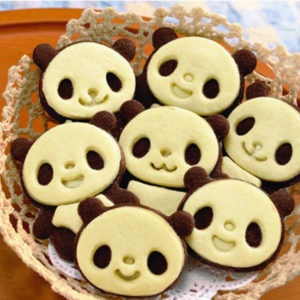 Bake Mould Cute Panda Cake Mould Cookie Biscuit Fondant Mould