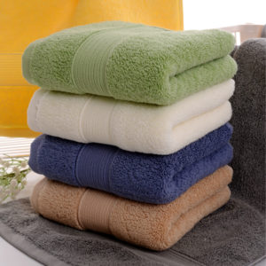 76x36cm Pure Cotton Bath Towel Soft Thicken Super Absorbent Face Towels