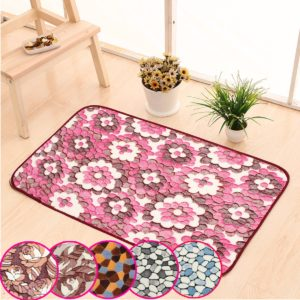 50x80cm Absorbent Anti Slip Memory Foam Floor Mat Door Sill Carpet Bath Rug