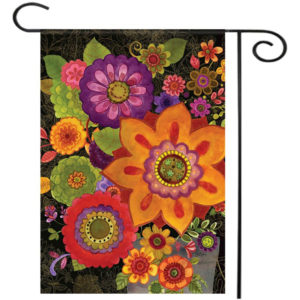 """28""""x40"""" 12.5""""x18"""" Florals in Fall Welcome House Garden Flags Yard Banner Decorations"""
