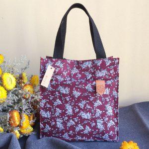 KCASA KC-LG09 Large Capacity Cotton Lunch Tote Bag Travel Picnic Lady Handbag Food Storage Organizer