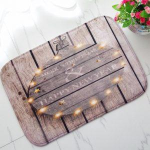 40x60cm julflanell sammet minnen skum matta absorberande badrumsmattan mjuk halkfri golvmatta