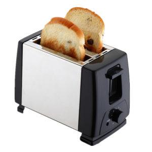 MONDA Electric Automatic 2 Slice Bread Toaster Oven Toaster Sandwich Maker Grill Machine