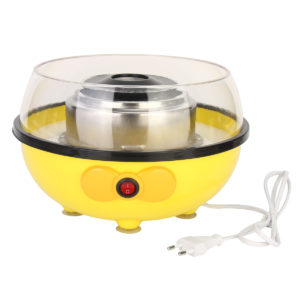 Portable Electric DIY Sugar Floss Carnival Maker Party Yellow Cotton Candy Machine 455W