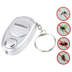 Loskii NB-UE008 Ultrasonic Electronic Pest Anti Mosquito Repeller Keychain Pests Control