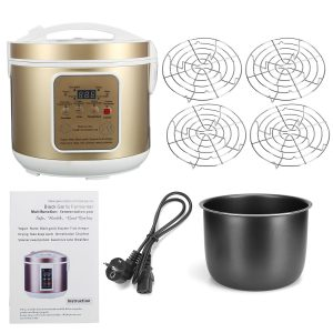 6L Large Capacity Automatic Black Garlic Fermenter Yoghurt Natto Maker Machine