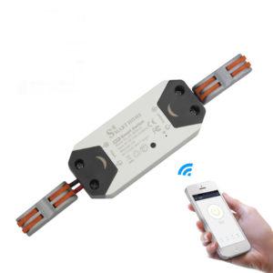 Bakeey 10A DIY WiFi Smart Light Switch Universal Module Breaker Timer Trådlös fjärrkontroll Fungerar med Alexa Google Home Smart Home Automation