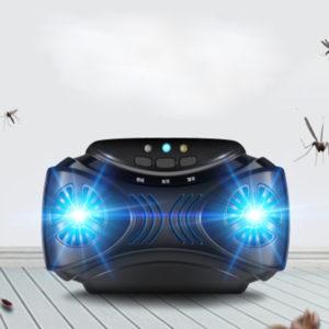 Ultraljud Animal Repeller Bärbara möss Insektsavvisande USB Elektronisk myggdödare Lätt ljus kombinerad enhet