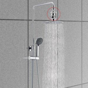 15 Stegfiltreringsrenare duschvattenfilterrengörare tar bort klor och fluor