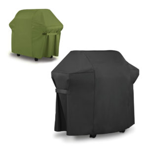BBQ Grill Cover For Weber 7553 / 7107 Black Green Gas Grills Outdoor Waterproof Furniture Waterproof Cover