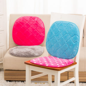 42x40cm Memory Cotton Soft Chair Cushion Car Office Mat Comfortable Buttocks Cushion Pads Home Decor