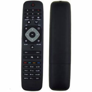 Universal bärbar trådlös TV-fjärrkontroll Känslig knapp Engelsk version för Philips TV