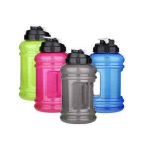 2.2L Big Mouth BPA Free Sport Gym Training Drink Water Bottle Cap Kettle Large Capacity Travel Mug
